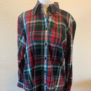 Ralph Lauren plaid ladies shirt